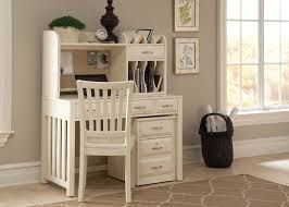 hampton bay white writing desk with hutch from liberty 715 ho dsk