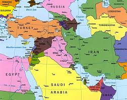 A Map Of The Middle East by Bowling Dna Speak E S Es Family Association