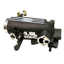ford mustang throttle bbk mustang throttle intake plenum 78mm 4 6l 2v 1996 2004
