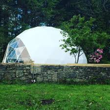 geodesic dome a perfect yoga space fdomes