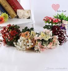 Popular Bridal Bouquet Flowers - vintage flower wedding bouquet 2016 romantic artificial bride