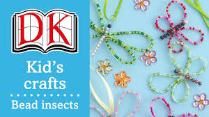 fun kids u0027 craft how to make bead insects youtube