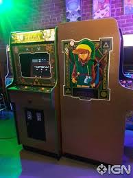 these 80s style zelda custom arcade machines are legendary ign