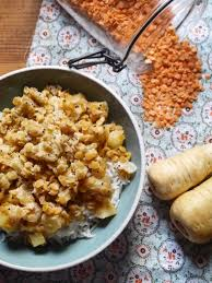 cuisiner des panais celle qui faisait un dhal de lentilles corail aux panais végétalien