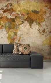 31 best world map wall murals images on pinterest photo bring the world home with this beautiful world map wall mural available in beautiful neutral