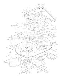 murray 38702x8d parts list and diagram 1996