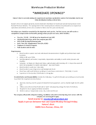 production resume sample sample resume production worker sioncoltd com bunch ideas of sample resume production worker on download