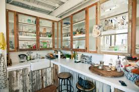 Natural Oak Kitchen Cabinets Reclaimed Wood Kitchen Cabinets Roselawnlutheran