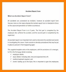 employee incident report templates 11 exle incident report students resume