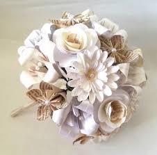 bouquet en papier paper flowers origami bouquet wedding bridal alternative roses