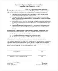 doc 600730 psychology consent form u2013 sample psychology consent