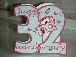 32nd wedding anniversary wedding gift 32 years lading for
