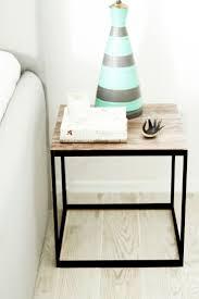 Ikea Bed Table by Best 25 Ikea Hack Nightstand Ideas On Pinterest Ikea Stool