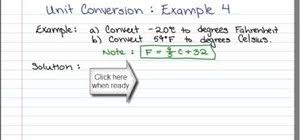 how to convert fahrenheit to celsius with a formula math