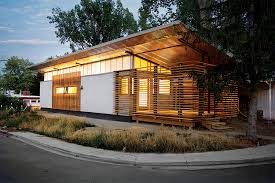 designer shed homes corrugated steel provides durable facade for