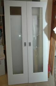 Glass Bifold Closet Doors Bifold Closet Doors With Glass Inserts Closet Doors