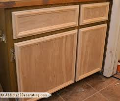 Cabinet Door Trim Bathroom Makeover Day 3 How To Make Cabinet Doors Without Using