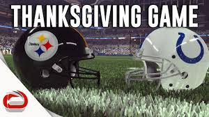 thanksgiving day football pittsburgh steelers vs indianapolis