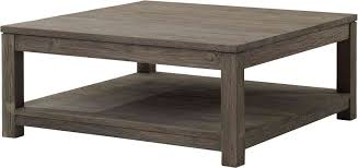Rustic Square Coffee Table With Storage Furniture Large Square Wooden Coffee Table Yonder Years Rustic