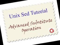 pattern matching using awk exles unix sed tutorial advanced sed substitution exles