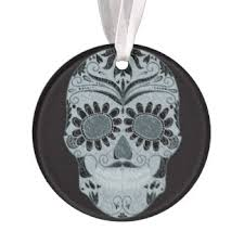 mexican sugar skull ornaments keepsake ornaments zazzle