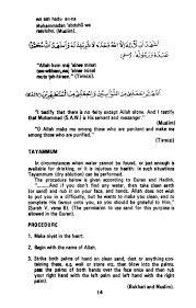 examples of housekeeping resumes a guide to prayer in islam 14 wa
