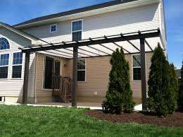 How To Build A Freestanding Patio Roof by Custom Patio Covers Awnings Bright Covers