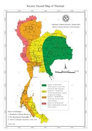 United States Earthquake Map by Analyze On Effect And Building Regulation In Northern Thailand U0027s