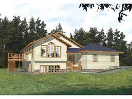 split level home fisherville split level home plan 088d 0170 house plans and more
