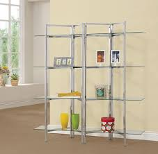 shelf bookcase with swing glass doors solid bookshelves and gold