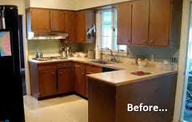 Roundup  Inspiring Kitchen Cabinet Makeovers Curbly - Kitchen cabinet makeover diy