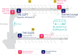 New York Airport Map Terminals by Transfers At Brussels Airport Brussels Airlines