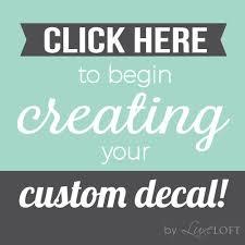 Custom Vinyl Sticker Wall Art - Design your own wall art stickers