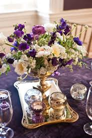 white gold and purple wedding 40 glamorous purple wedding inspirational ideas weddingomania