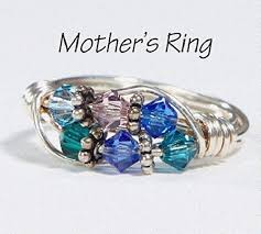 mothers ring 6 stones 6 s grandmother s birthstone ring