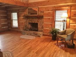 southern ashe county log home