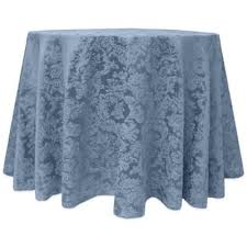 buy slate blue tablecloths from bed bath beyond