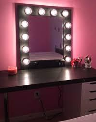 vanity makeup mirror with light bulbs vanity makeup mirror with light bulbs images also fascinating lights