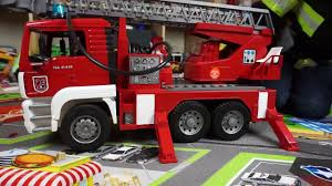 bruder fire truck fire trucks for children bruder toys fire engine toy unboxing