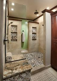 bathroom niche ideas shower niche ideas bathroom traditional with glass shelves silver