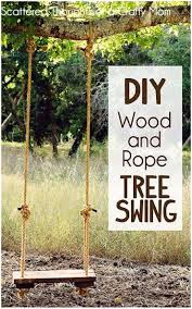 backyards splendid handcrafted wood tree swing single 58