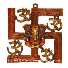 lovely ideas om wall hanging unusual idea om ganesha on swastik