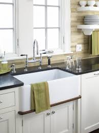 Ceramic Kitchen Sinks Best White Kitchen Sink Faucets Images Home Decorating Ideas