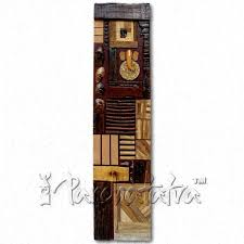 buy abstract wooden wall panel for bedroom decoration in