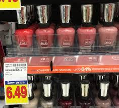 sally hansen nail polish as low as free at kroger kroger krazy