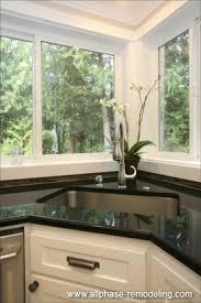 Kitchen Designs With Corner Sinks A Better Corner Kitchen Sink Great Idea Save Space Of Corners