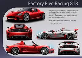 subaru street racing factory five racing 818 on behance
