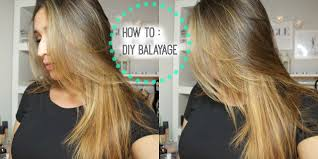 should wash hair before bayalage how to diy lighten balayage your hair at home youtube
