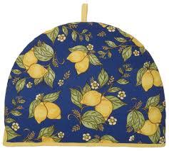 amazon com now designs tea cozy provencal lemon yellow home