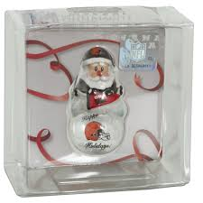 orcl2 ornament snow dome cleveland browns cleveland and products